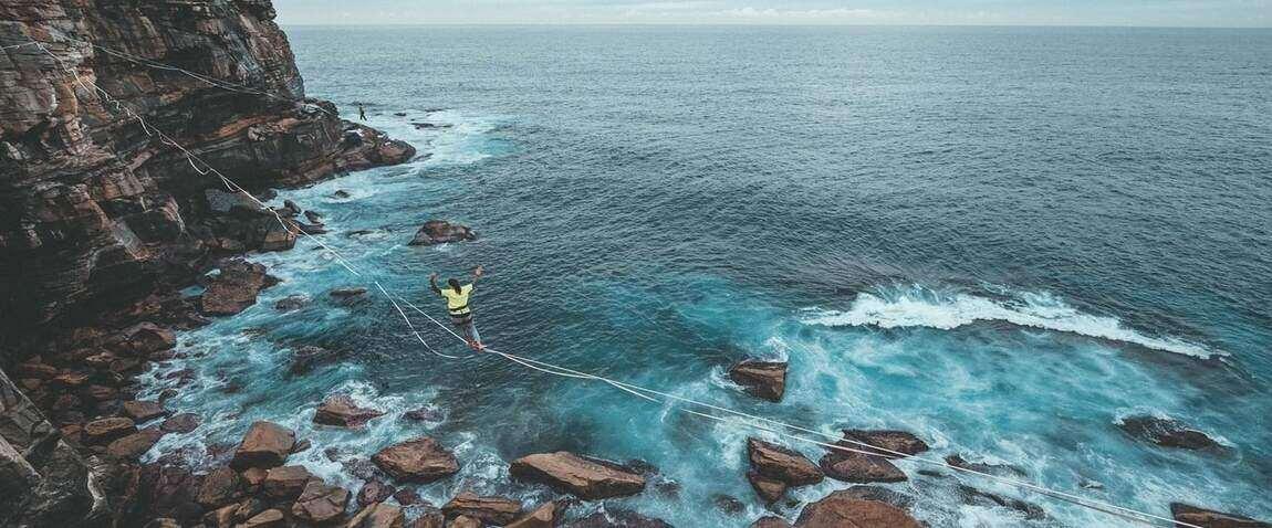 экстрим спорт альпинист