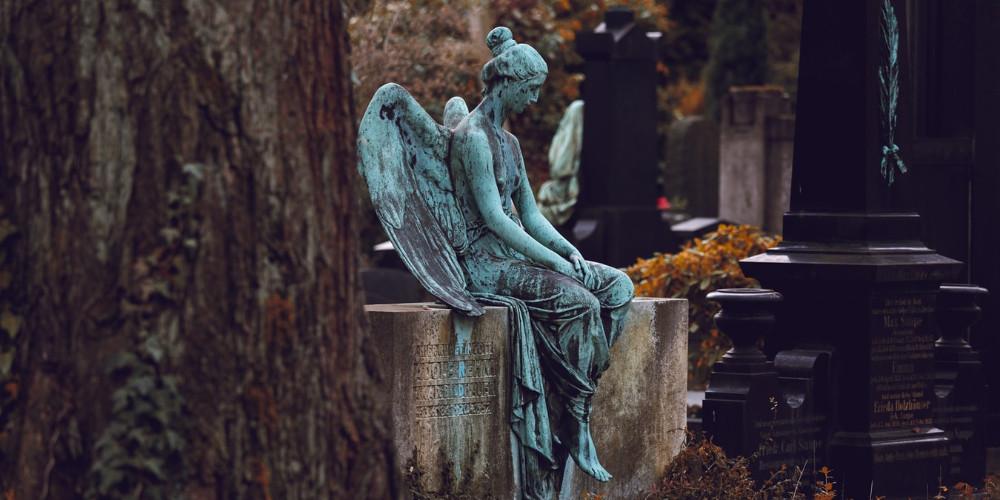 Cemetery in Deutschland