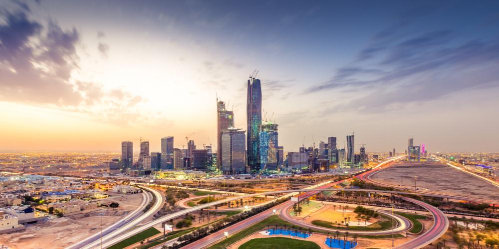 Riyadh city towers, Saudi Arabia