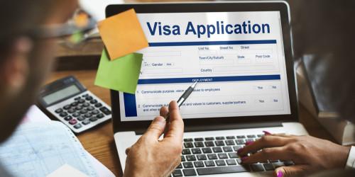 Ukraine Electronic visa process