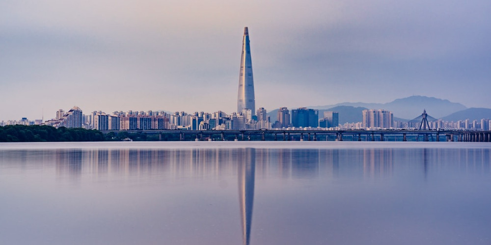 This is the scenery of Seoul, capital of South Korea