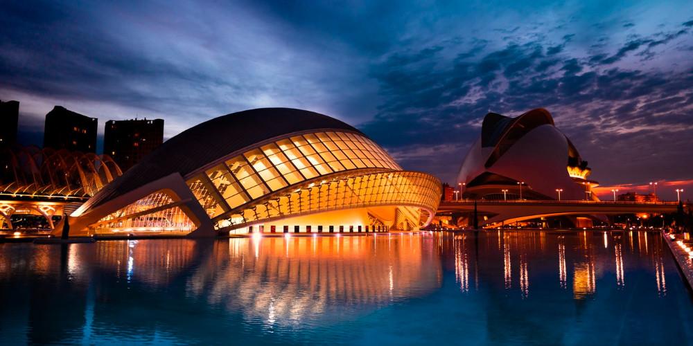Arts and Science built by Calatrava, Valencia
