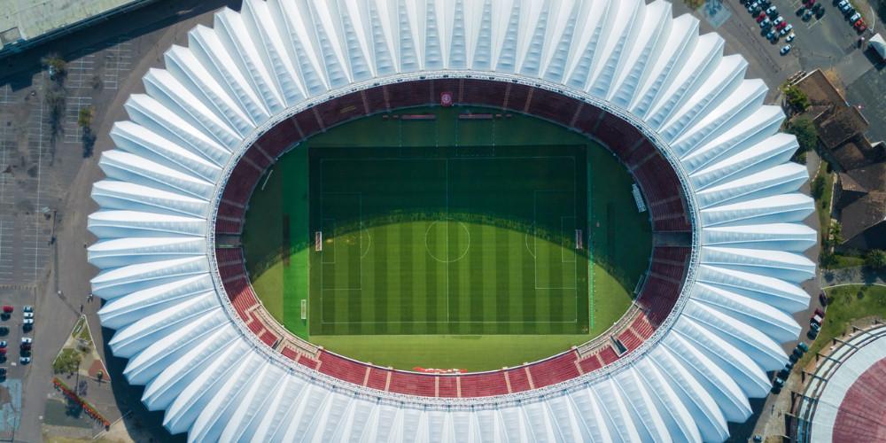 view from stadium