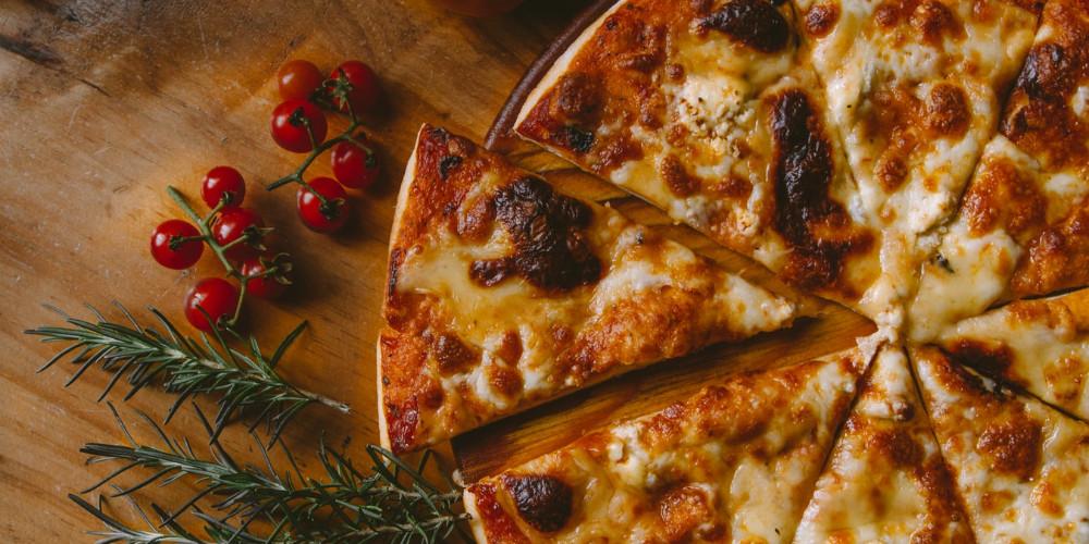 delicious pizza