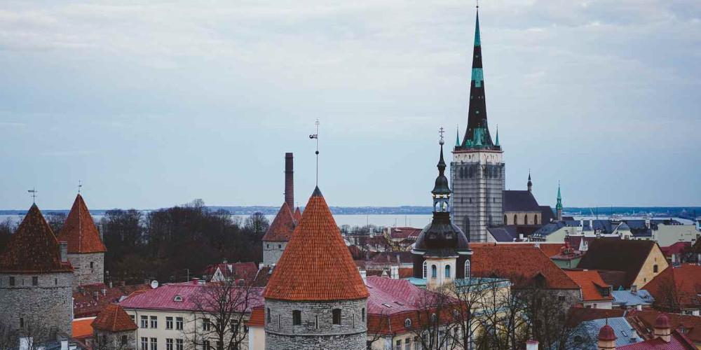 Tallinn old city daytime, Estonia