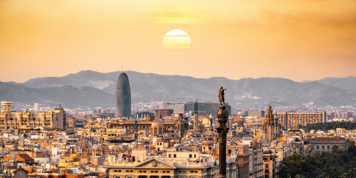 Two days in Barcelona with Dan Brown