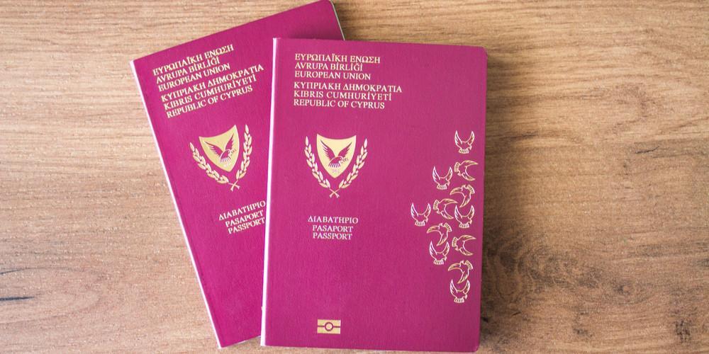 Two Cypriot EU biometric passports