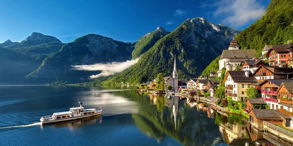 Bergsee lake, Austria