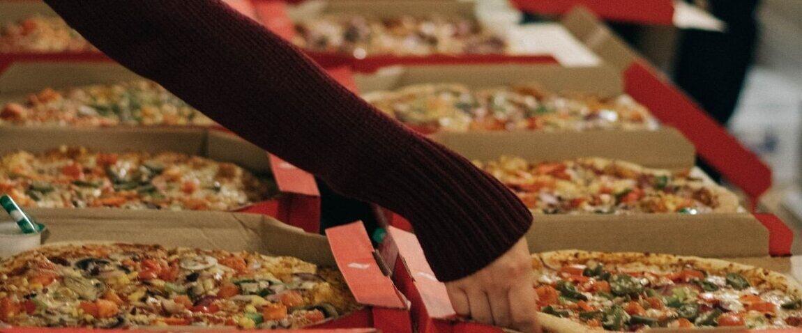 a few pizzas