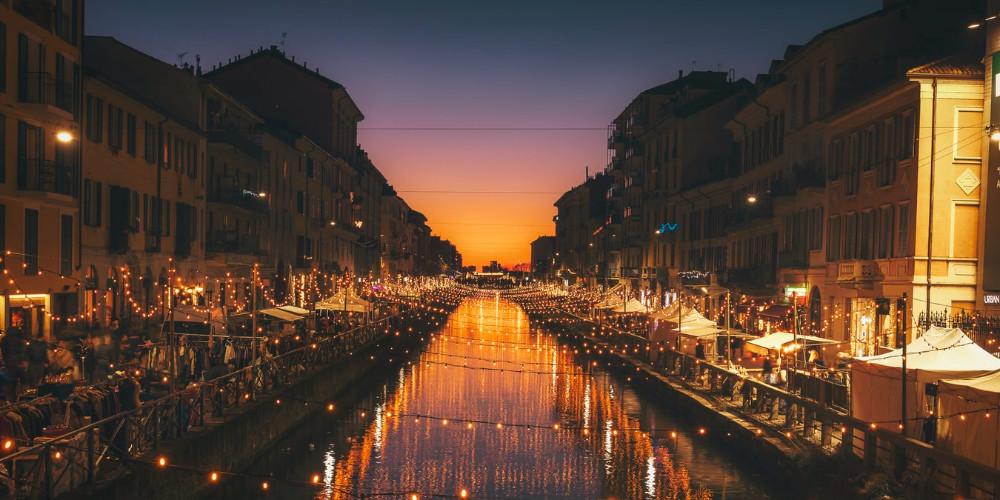 Alzaia Naviglio Grande, Milano, Italy