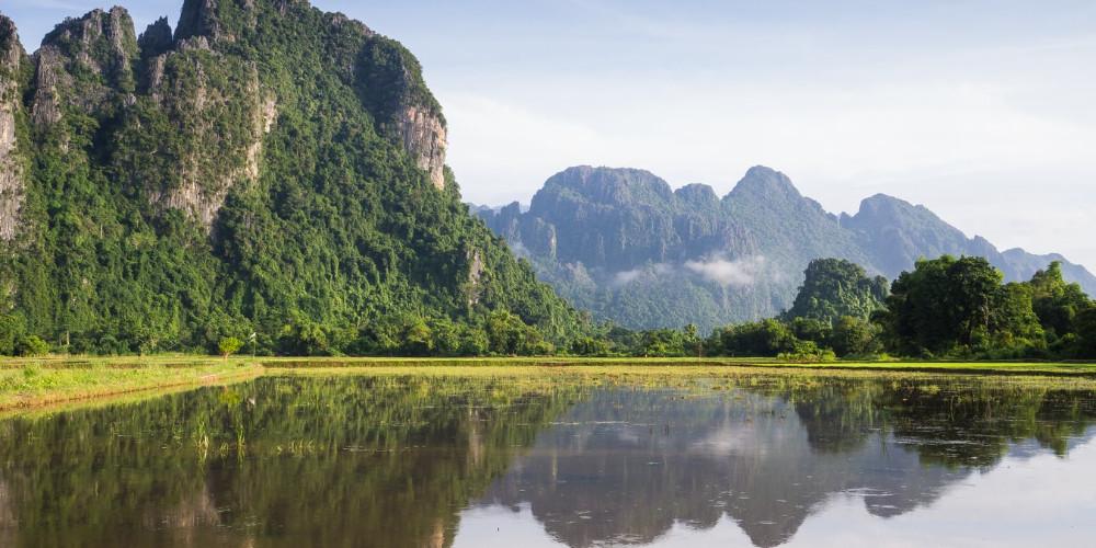 Lake, Laos