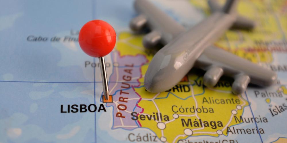 Pin in Lisbon, Portugal
