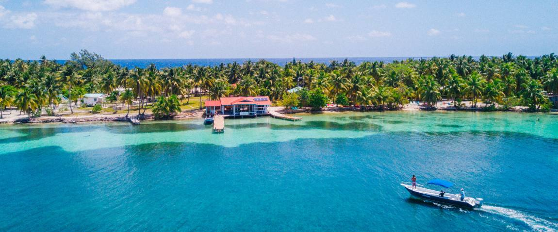amazing tropical island