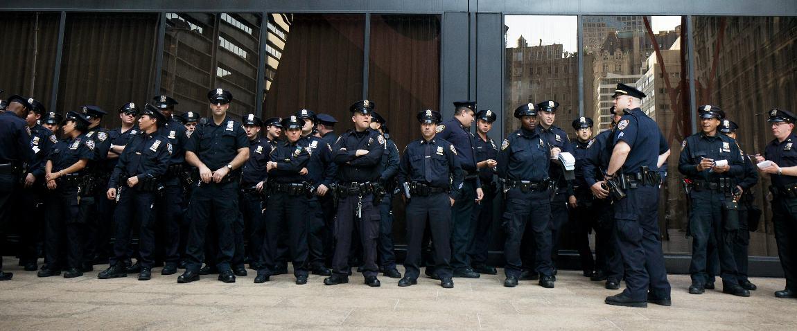 american policemen