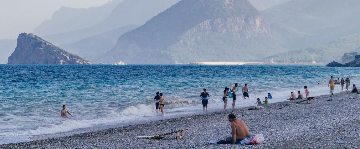 antalya sea beach