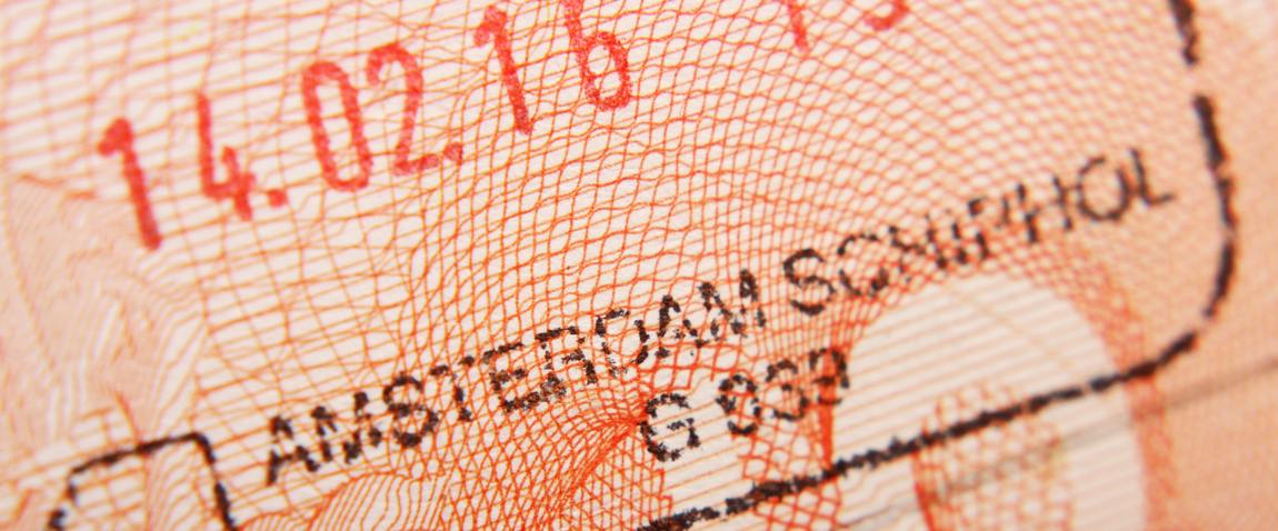 arrival stamp in passport
