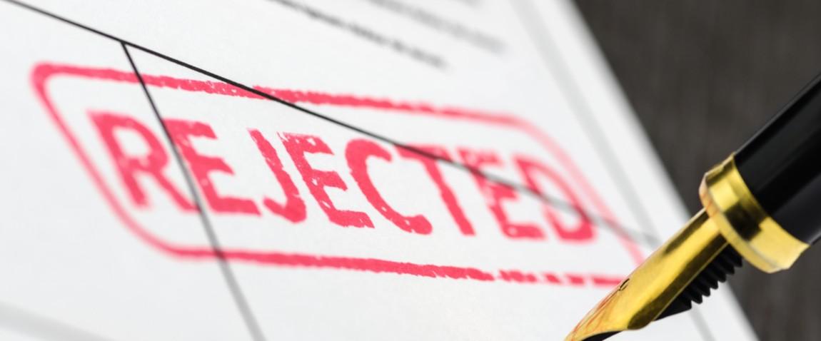 visitor visa rejected