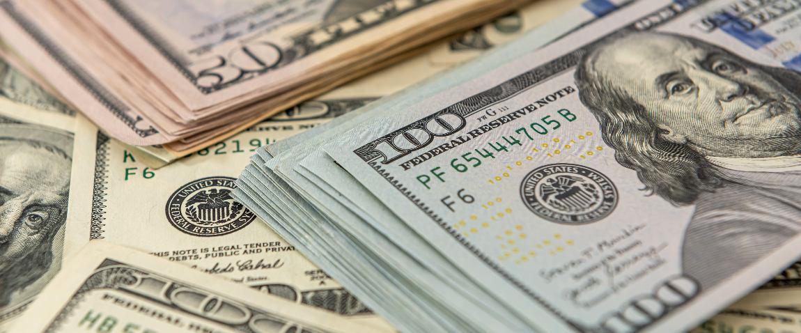 background of us dollar bills