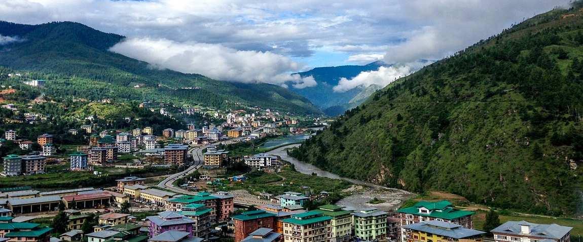 village of bhutan