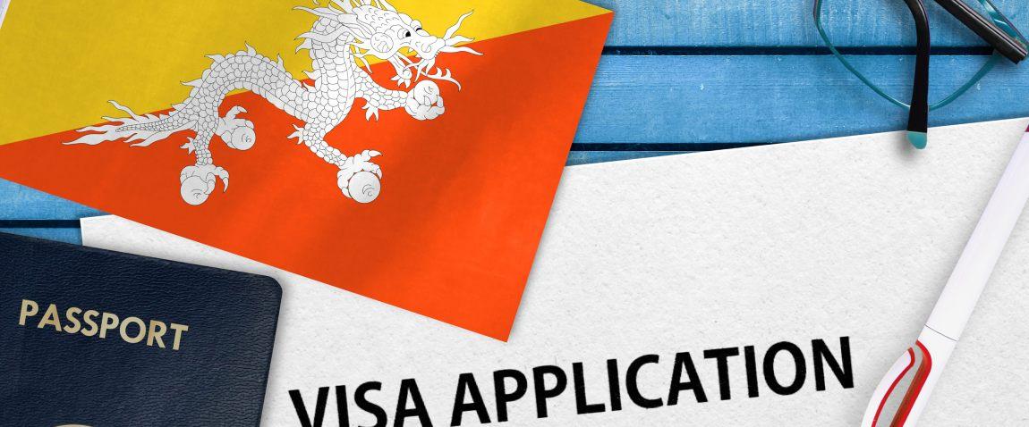 bhutan visa application form