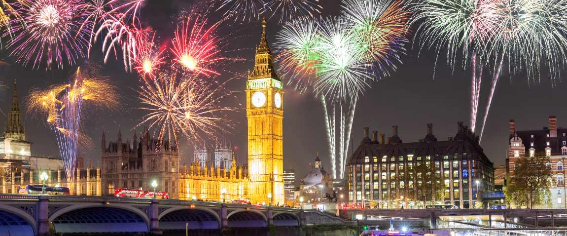 england new year