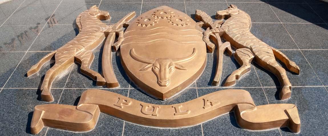 botswana coat of arms