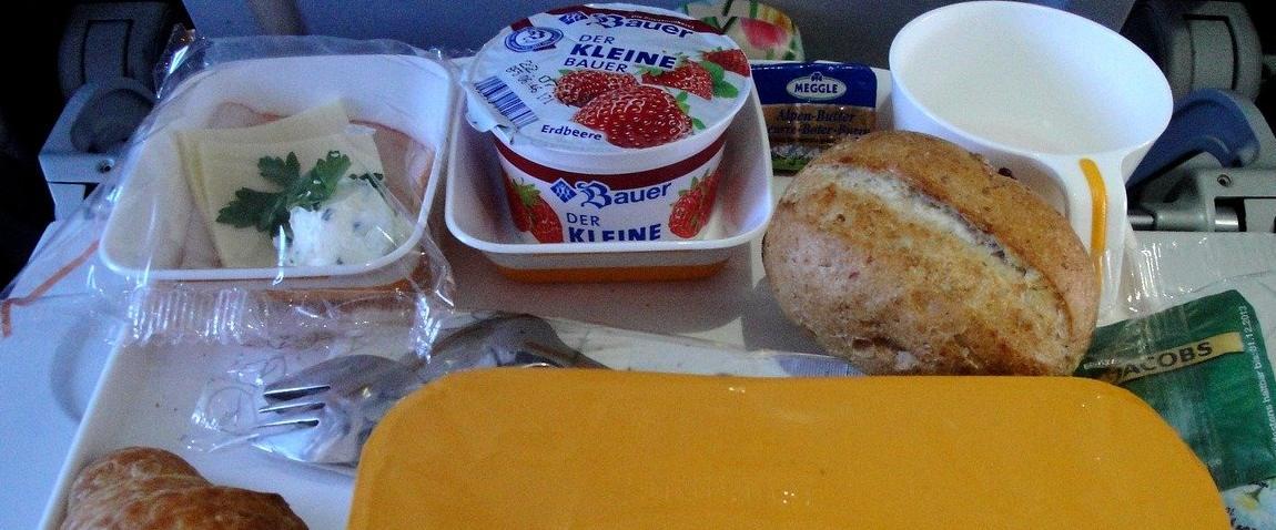 breakfast plane