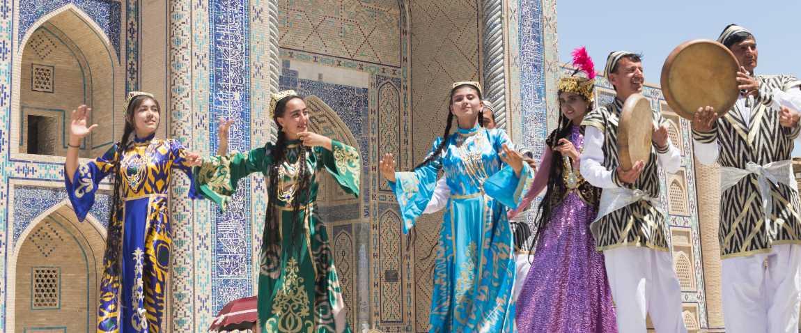 bukharian musicians