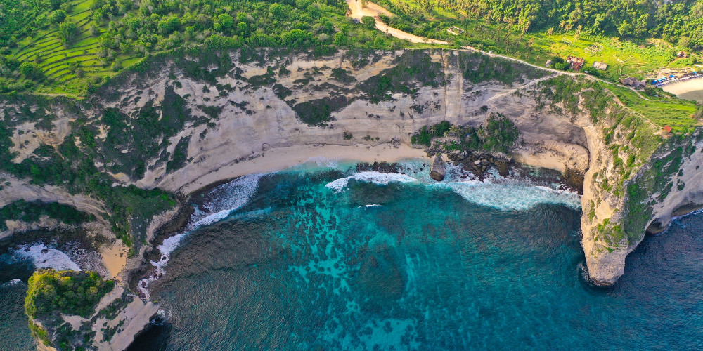 Sea landscape, Saint Vincent and the Grenadines