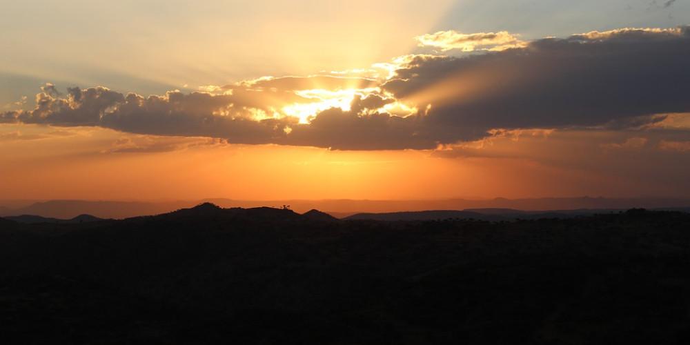 Eritrea sunset