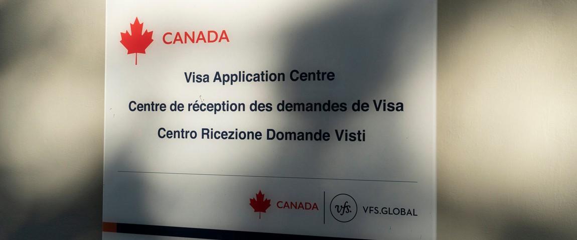 canada visa application center