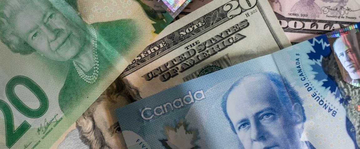 canadian dollars money