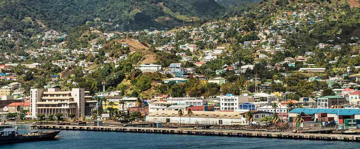 capital of saint vincent and the grenadines