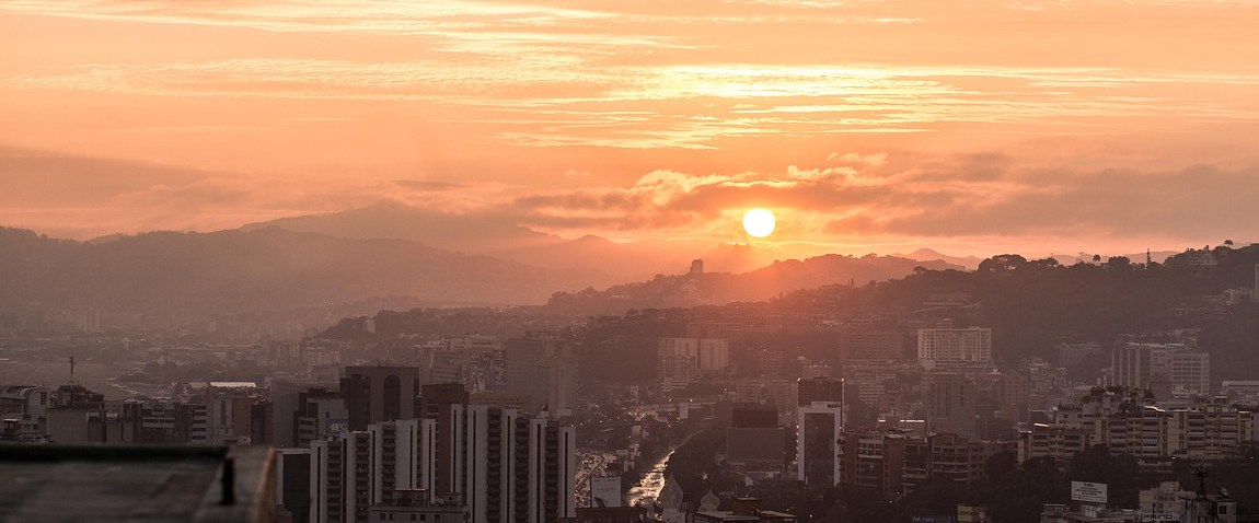 caracas sunset
