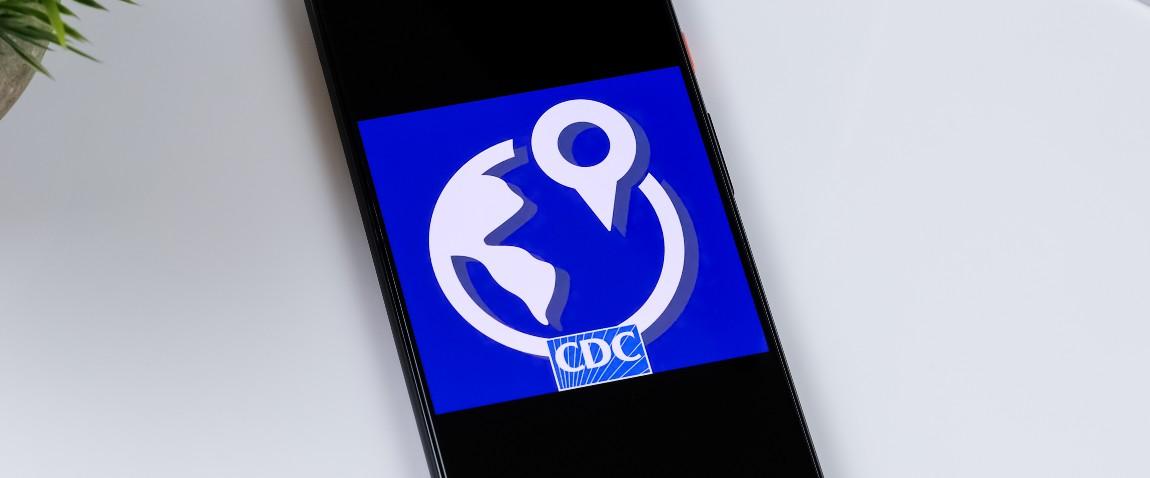 cdc travwell app logo