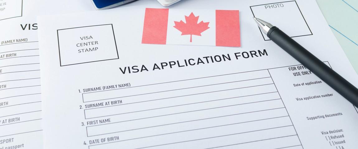 canada visa application form