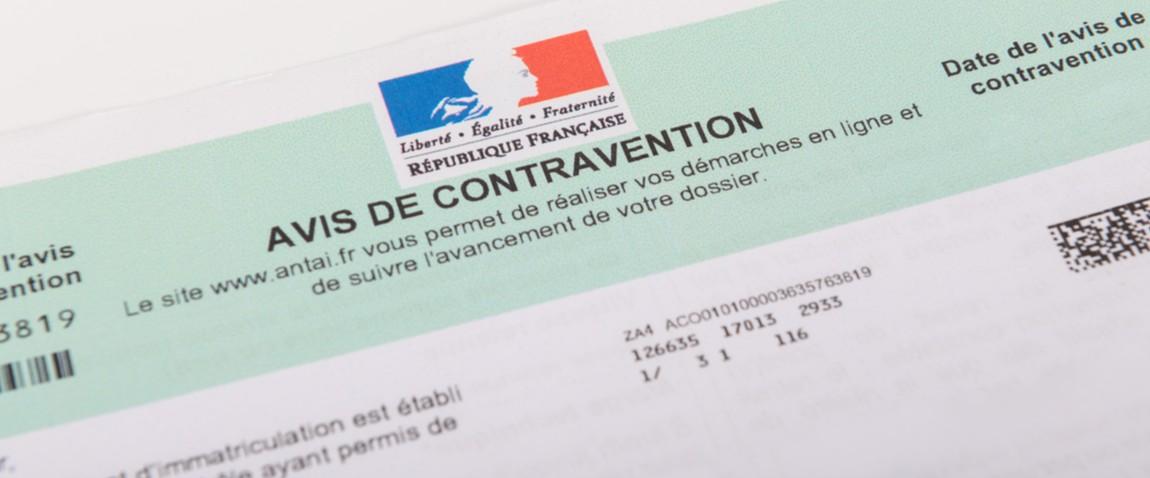 contravention notice