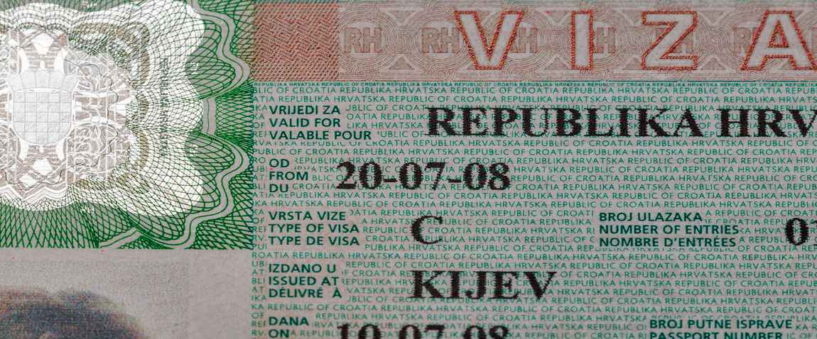 croatian visa