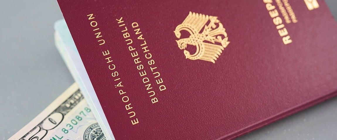 dollar i pasport