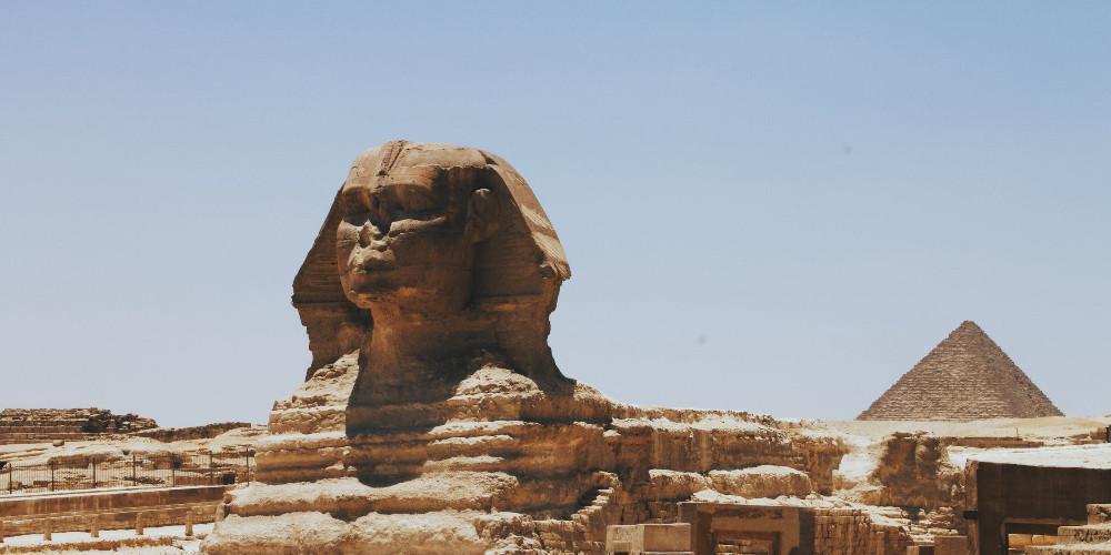 Great sphynx of Giza, Egypt