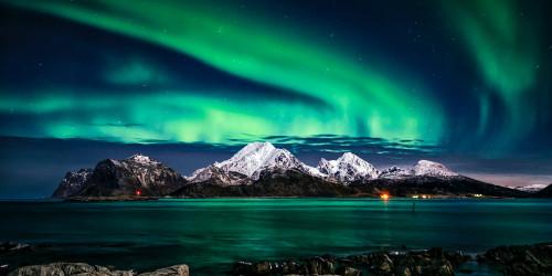 Magic world – the northern lights