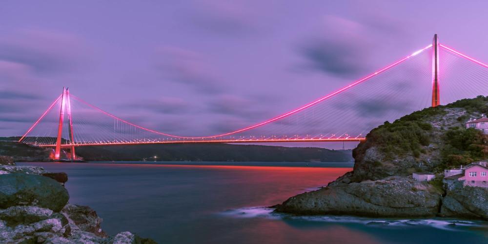 Yavuz Sultan Selim Bridge, Istanbul, Turkey
