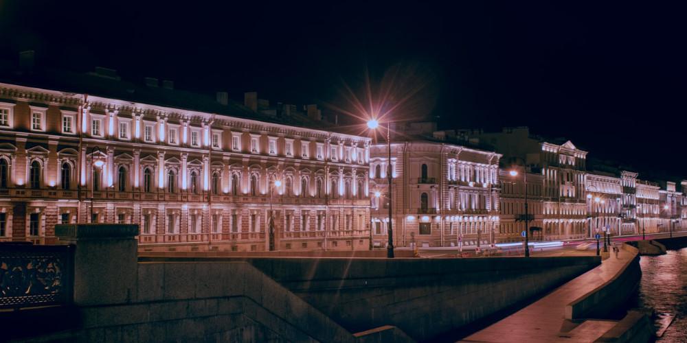 Liteynyy bridge, Saint Petersburg, Russia