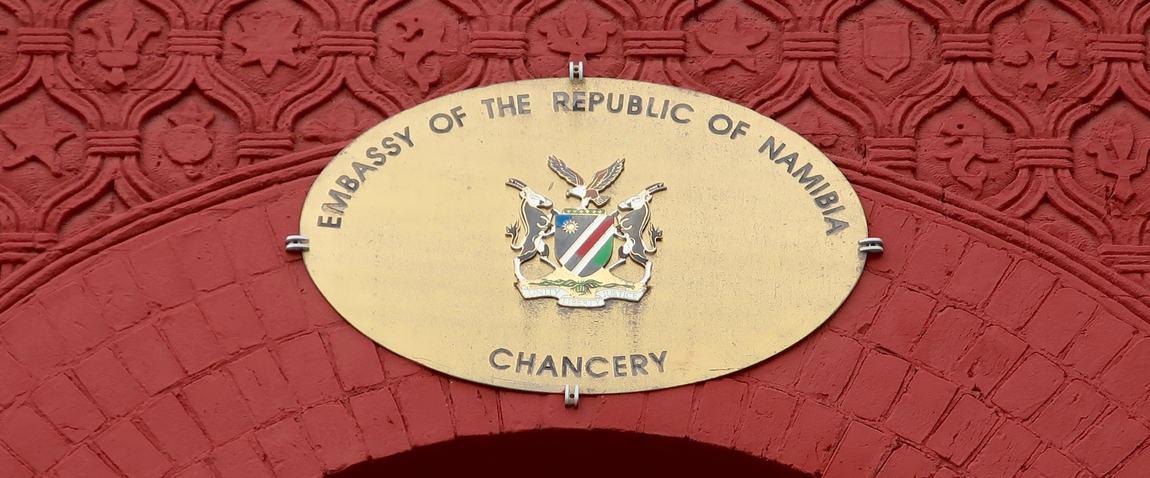 embassy of namibia