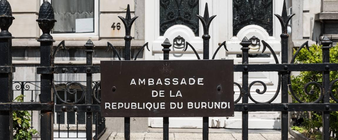 embassy of burundi