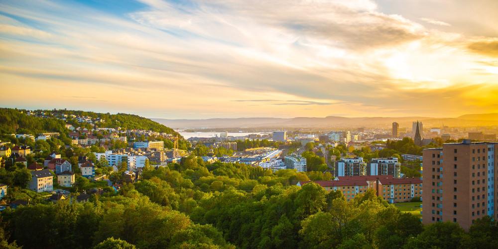 Oslo landscape, Norway