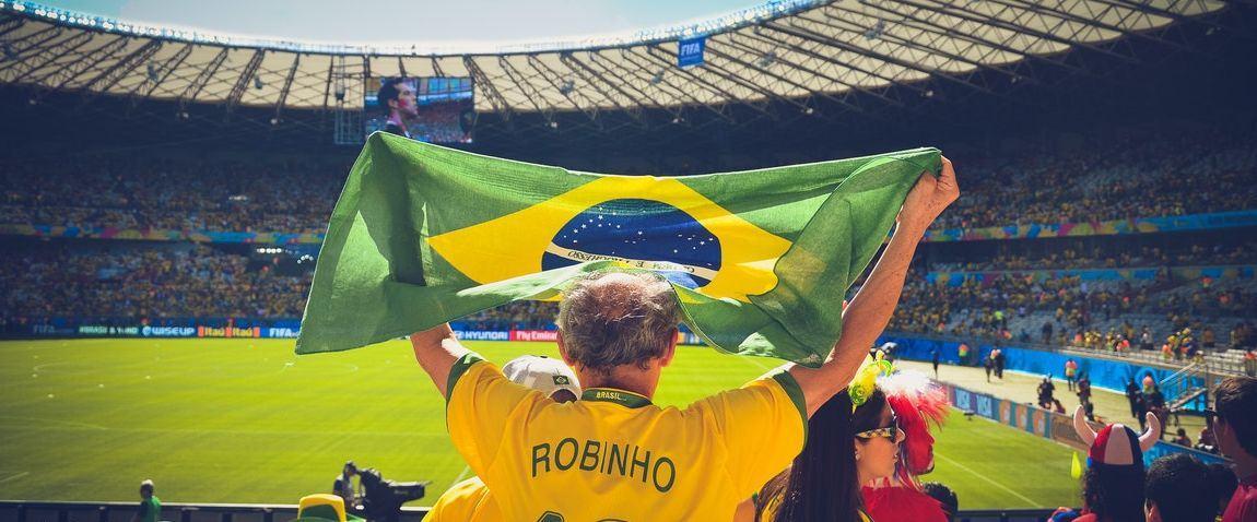 fan of brazil football team