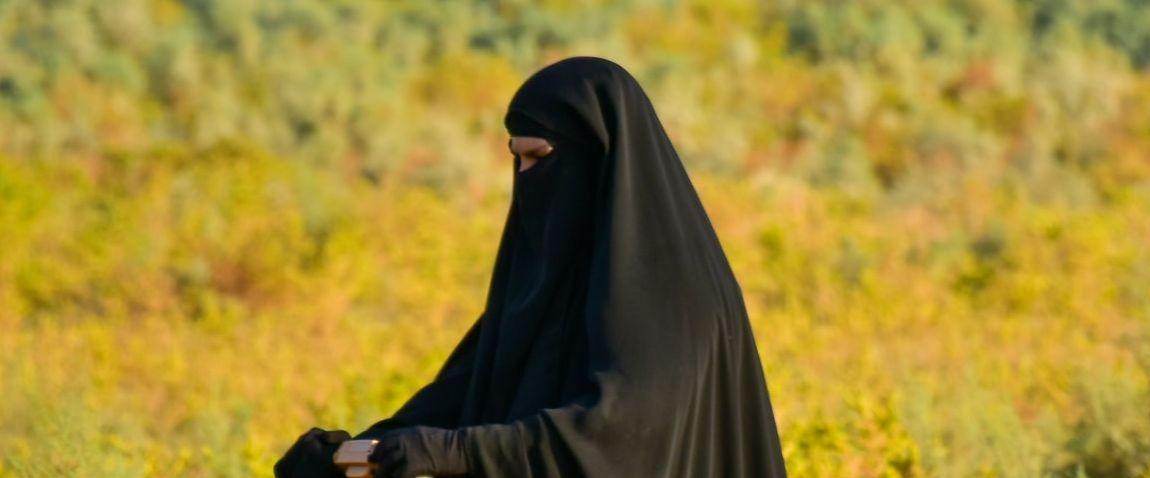 female tourist in iraq