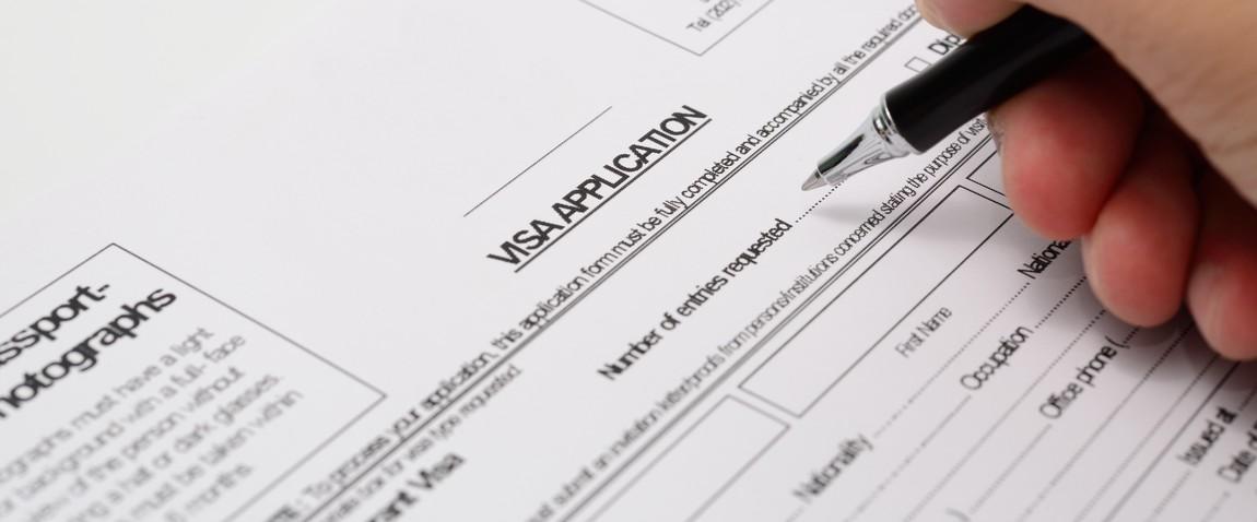 filling application form