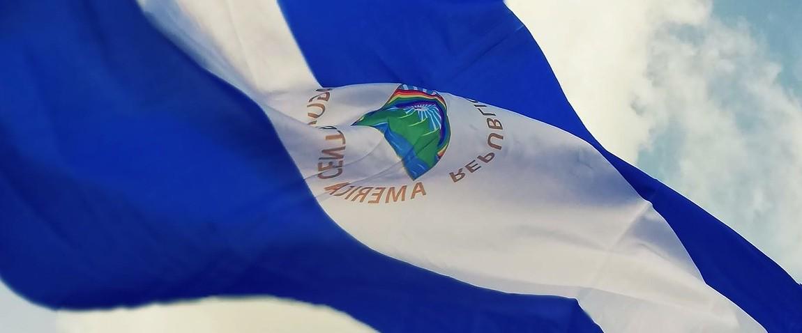 flag nikaragua